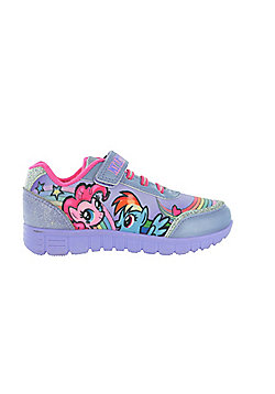 589098cb5e54 Girls MLP My Little Pony Lilac Trainers Joggers Sports Shoes UK Sizes 6 -  12 -