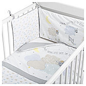 Counting Sheep Quilt & Bumper Baby Nursery Bedding Set