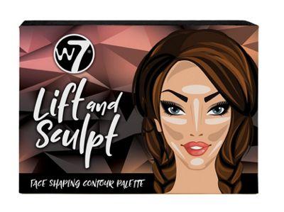 W7 Lift and Sculpt Face Shaping Contour Palette