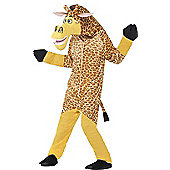 Madagascar Melman The Giraffe Costume - Burgundy & Cream