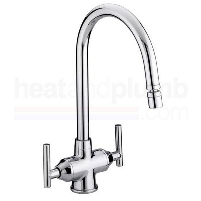 Bristan Revolve Monobloc Sink Mixer Tap with Directional Nozzle Chrome Plated