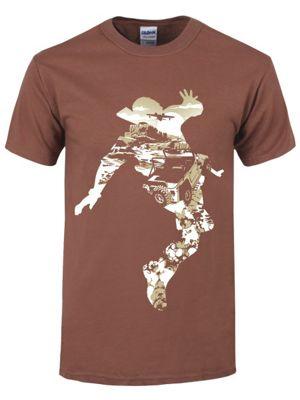 Treasure Hunter Brown Men's T-shirt