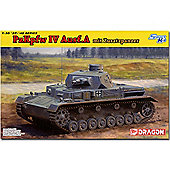 Dragon 6816 Pz Kpfw Iv Ausf A Up Armored 1:35 Smart Model Kit