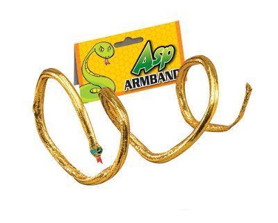 Bristol Novelty - Gold Snake Armband