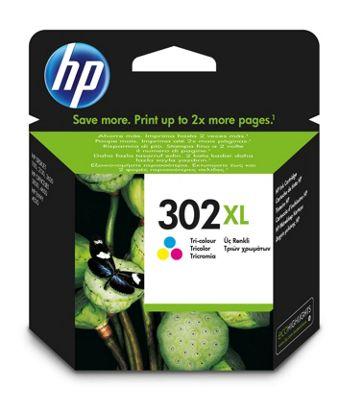 HP 302XL High Yield Tri-color Original Printer Ink Cartridge