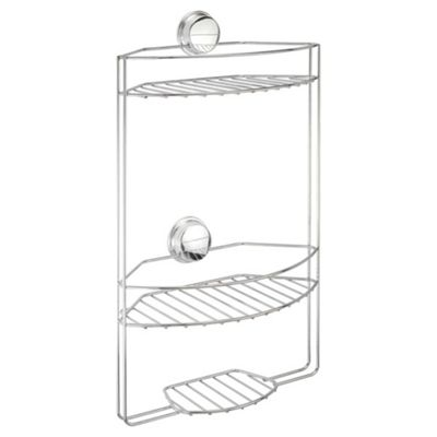 Stick N Lock Plus 3 Tier Shower Caddy