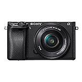 Sony A6300B + 16-50mm F3.5-5.6 OSS 24.2MP Black