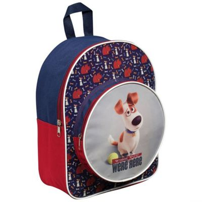 Secret Life Of Pets 'Max' Junior Round Pocket Backpack