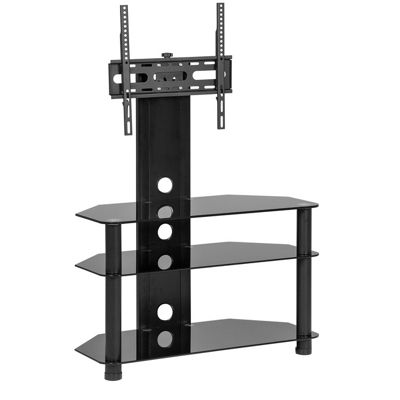 CB32 Black TV Stand With Bracket for up to 50 inch