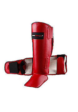 Blitz Firepower Shinguard - Red - Red