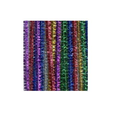 Craft Factory Assorted Glitter Chenilles 30cm x 6mm