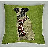 Mason Grey Ray Green Cushion Cover - 43x43cm