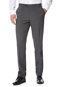 F&F Slim Fit Trousers - Charcoal