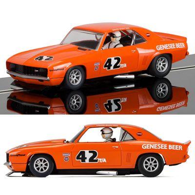 SCALEXTRIC Slot Car C3874 Chevrolet Camaro 1971 Trans Am