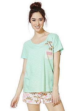 Disney Winnie the Pooh Tigger Shorts Pyjamas - Multi