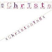 Girl Christening Banner (2.13m)