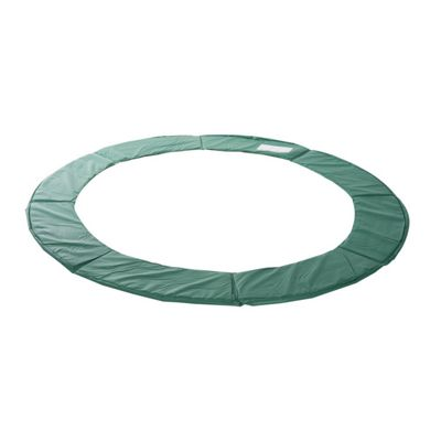 Homcom 8ft Replacement Trampoline Pad Thick Foam Safety Spring Cover Padding - Green