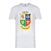 British & Irish Lions Kids Logo T-shirt - White - White