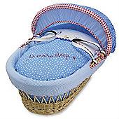 Izziwotnot Time to Play Wicker Moses Basket Natural (Petit Henri)