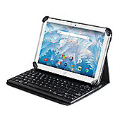 Navitech Folding Case Cover With Removable Bluetooth Keyboard For The Acer Iconia One B3-A40 10 Inch