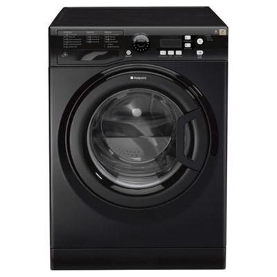 Hotpoint Extra Washing Machine, WMXTF 742K UK, 7KG load, with 1400 rpm - Black