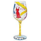 Lolita Wine Glass - Kind Of On A Diet!