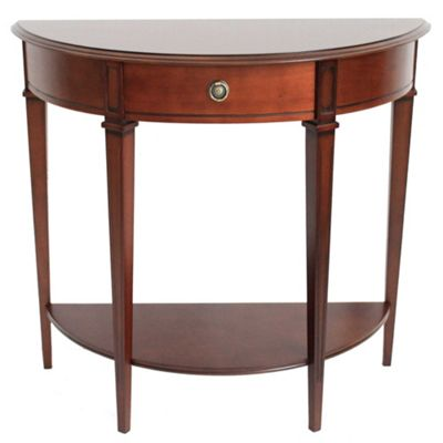 Origin Red Winchester Half Moon Table