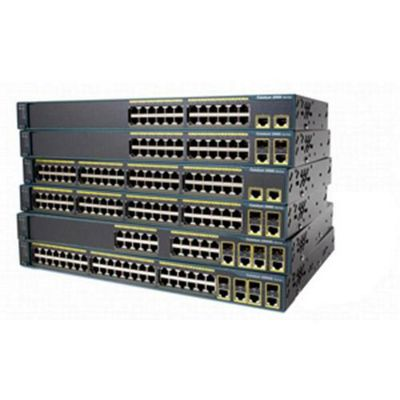 Cisco Catalyst 24 Ports Rack Mountable Switch Managed