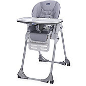 Chicco Polly Easy 4 Wheels Highchair (Nature)