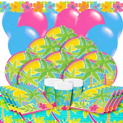 Summer Scene Deluxe Party Pack for 16