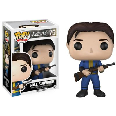 Funko POP Fallout 4: Sole Survivor Vault Dweller