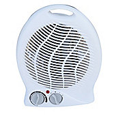 Igenix IG9020 2kW Upright Fan Heater - White