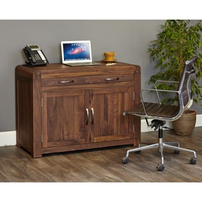 Salem Walnut Hidden Home Office