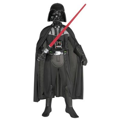 Rubie's Masqerade - Darth Vader Deluxe - Child Costume 10-12 years