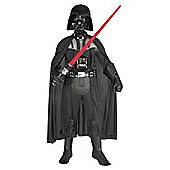 Rubie's Masqerade - Darth Vader Deluxe - Child Costume 10-12 years