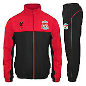 Liverpool FC Mens Tracksuit - Red