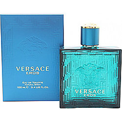 Versace Eros Eau de Toilette (EDT) 100ml Spray For Men
