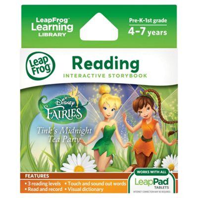 LeapFrog LeapPad Ultra eBook- Disney Fairies Tink's Midnight Tea Party