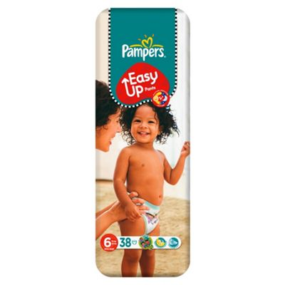 Pampers Easy Ups Economy Pack Size 6 (Extra Large) 38