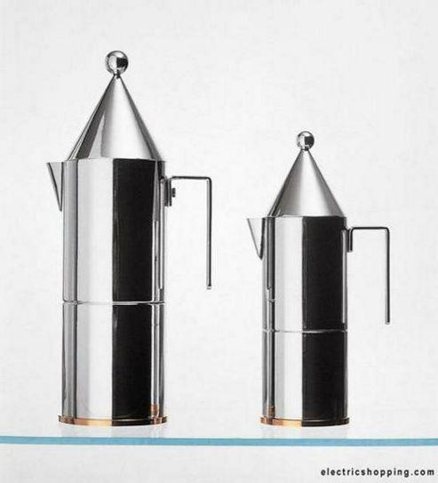 Alessi 90002/6 La Conica 6 Cup Espresso Coffee Maker