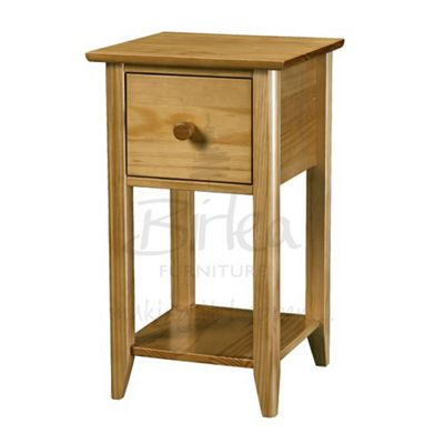 Compact Bedside Tables buy birlea cotswold compact bedside table - pine from our bedside