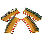 Scalextric C7019 Rad 3 Single Lane Curve Outer Borders