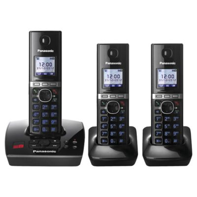 Panasonic KX-TG8063 Trio Cordless Home Phone