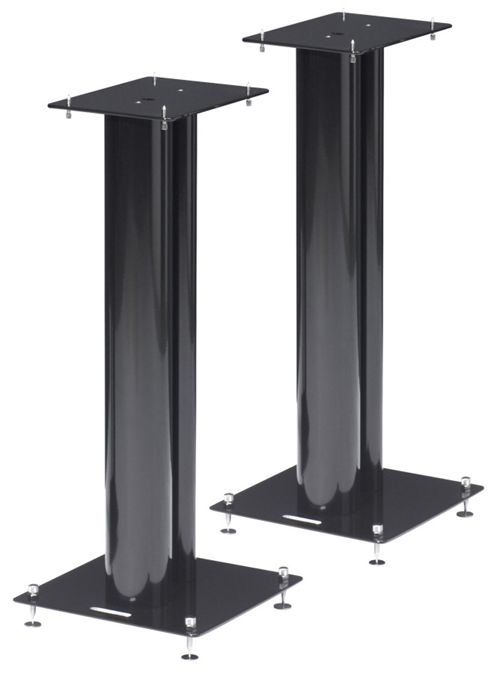Norstone Pair of Black Speaker Stands 600mm