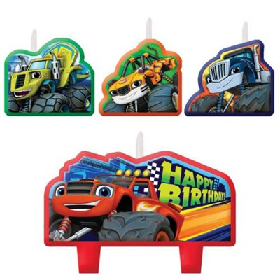 Blaze and the Monster Machines Birthday Candles