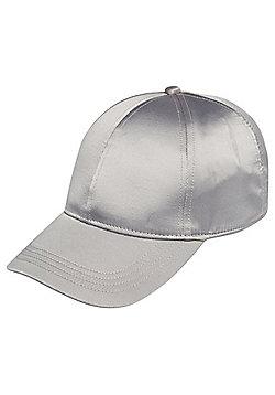 F&F Satin Baseball Cap - Grey