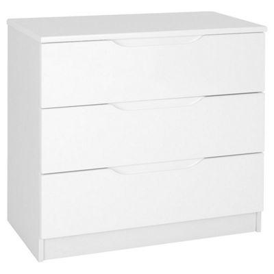Alto Furniture Visualise Alpine 3 Drawer Chest