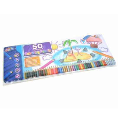 Grafix Colour Pencils (Tin of 50)