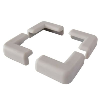 Ezy Child Safety Corner Protectors 4 Pack in Light Grey