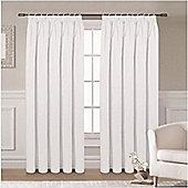 Ripon Thermal Blackout Curtains 46 x 54 - White